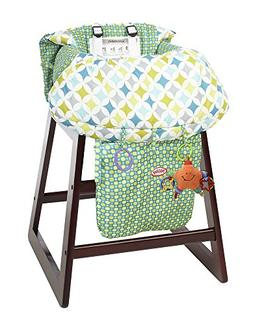 Nuby 2-in-1 Universal Size Shopping Cart and High Chair Cove