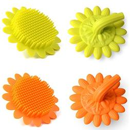 Silicone Baby Hair Body Bath Brushes,Tiptop Shower Gel Scalp