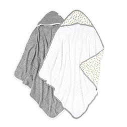 Burt's Bees Baby - Hooded Towels, Absorbent Knit Terry, Supe