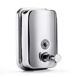 BravoTeam Soap Dispenser Stainless Steel Wall Mount Soap Dis
