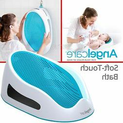 Angelcare Soft-Touch Baby Bath Support Aqua│Anti Slip│Mo