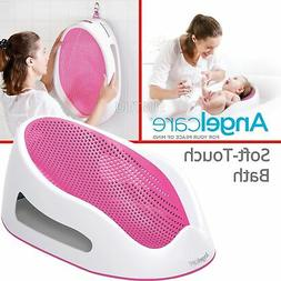 Angelcare Soft-Touch Baby Bath Support Pink│Anti Slip│Mo
