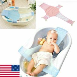 US Baby Infant Convenient Bath Tub Safety Seat Bathing Newbo