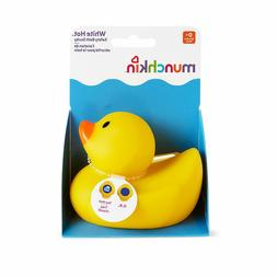 Munchkin White Hot Safety Bath Ducky Reveals The Word Yellow
