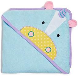Skip Hop Baby Hooded Towel, 100% Cotton French Terry, Unicor